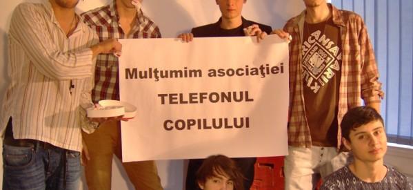 """Asociatia """"Telefonul Copilului"""" sprijina un proiect media dedicat liceenilor bucuresteni"""