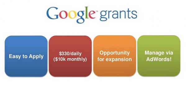 Google Grants: reclamă gratis pentru ONG-uri